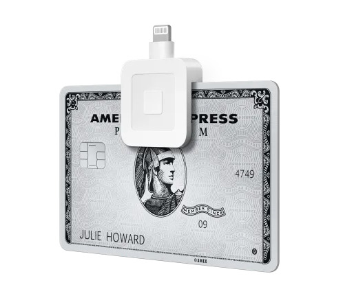 Square free mobile card reader